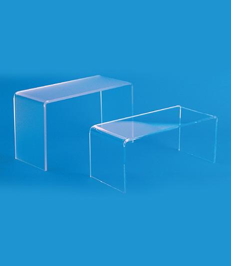 tavolini plexiglass : Tovilino in plexiglass ER0514/5/6/7/8/9 Tavoli Negozi Roma