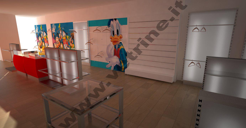 Foto arredamenti realizzati gsn centro negozi for Negozi arredamento roma centro