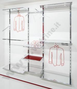 Sistemi modulari per arredamento negozio